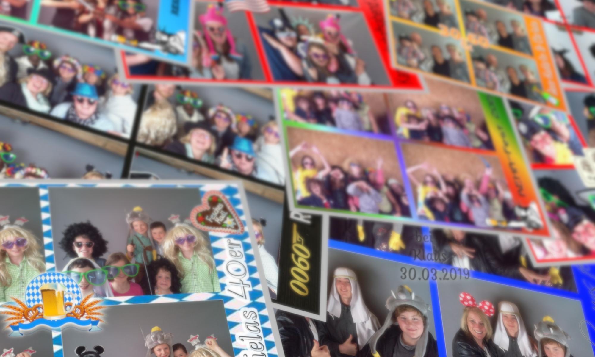 Spass-Ablichter Fotobox